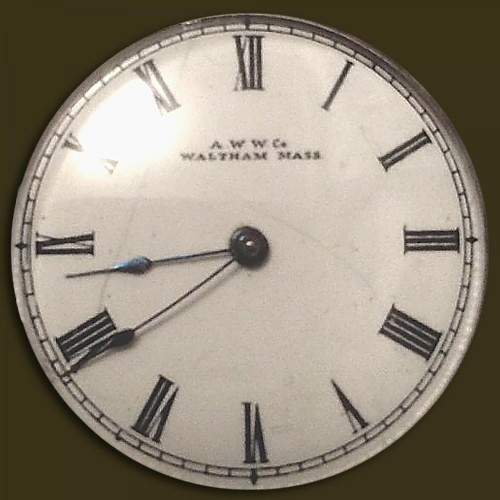 Waltham Grade Am.W.Co. Pocket Watch Image