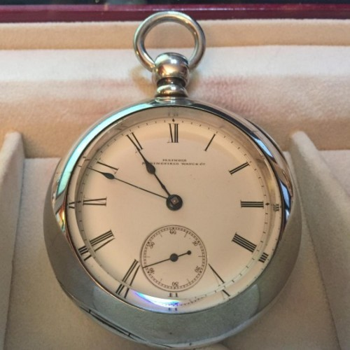 Illinois Grade Dean Pocket Watch Image