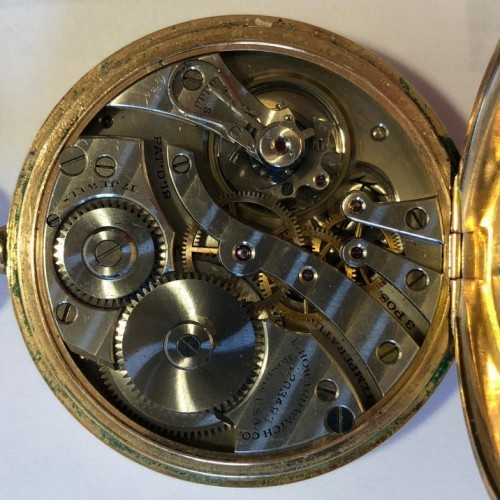 E. Howard Watch Co. (Keystone) Grade Series 7 Pocket Watch Image