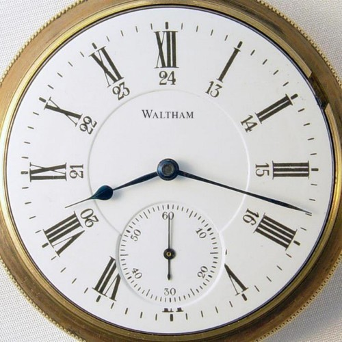Waltham Grade No. 825 Pocket Watch Image