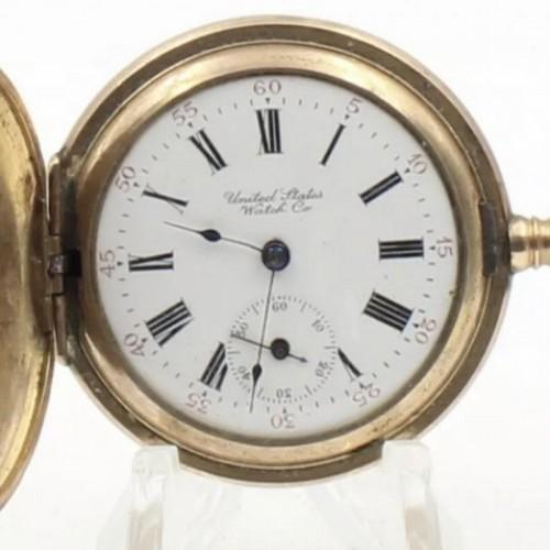 U.S. Watch Co. (Waltham, Mass) Grade  Pocket Watch Image
