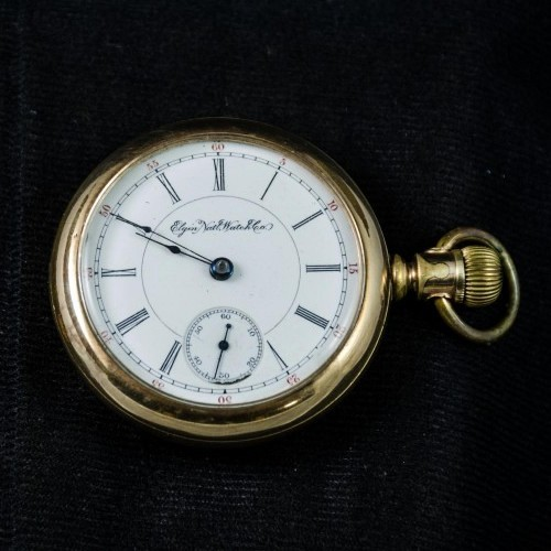 Elgin Grade 125 Pocket Watch Image