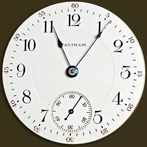 Waltham Grade No. 825 Pocket Watch Image