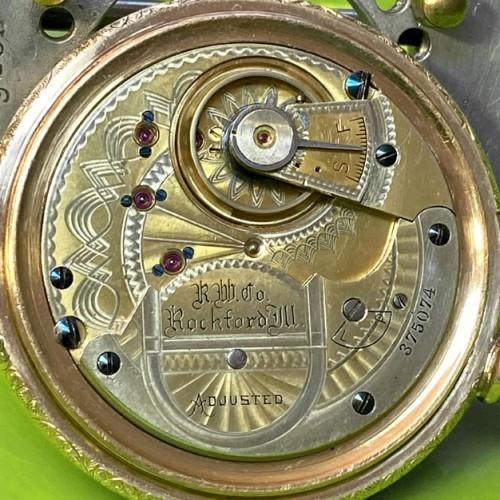 Rockford Grade 87 Pocket Watch Image