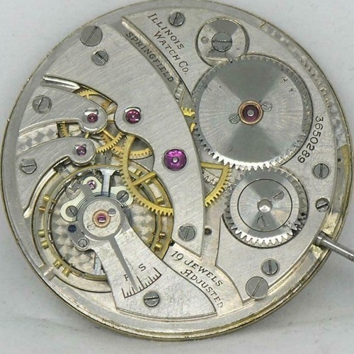 Illinois Grade 437 Pocket Watch Image