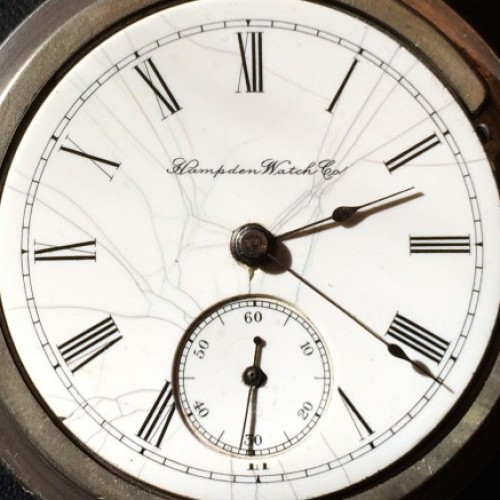 Hampden Grade No. 45 Pocket Watch Image