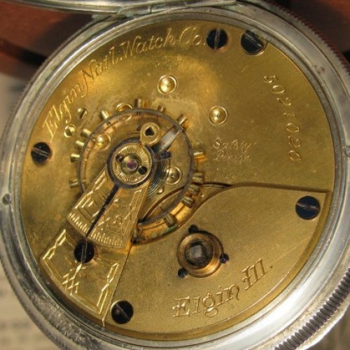 Elgin Grade 97 Pocket Watch Image