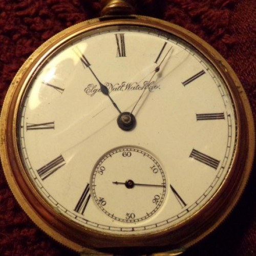 Elgin Grade 74 Pocket Watch Image