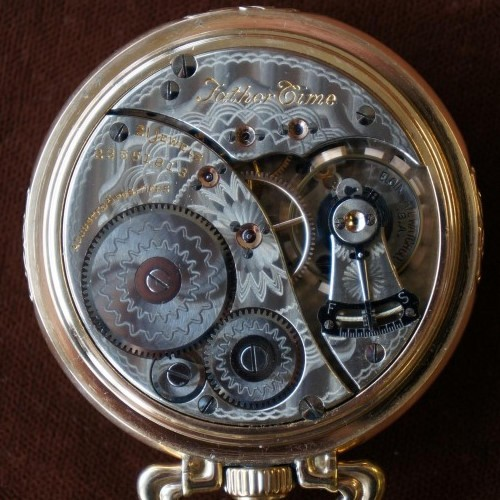 Elgin Grade 454 Pocket Watch