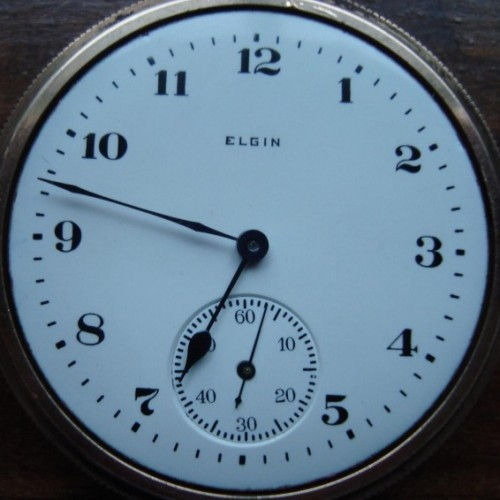 Elgin Grade 313 Pocket Watch Image
