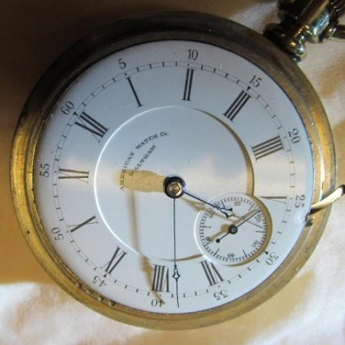 Waltham Grade No. 35 Pocket Watch