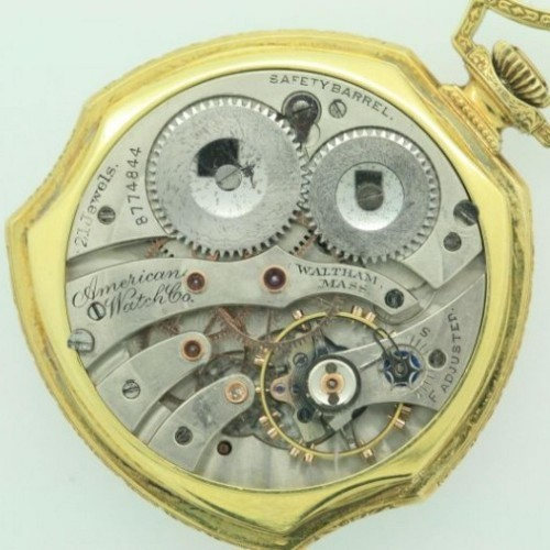 Waltham Grade Bridge Pocket Watch Image