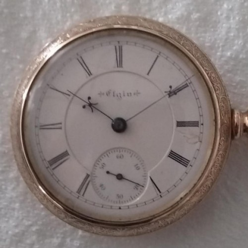 Elgin Grade 27 Pocket Watch Image Elgin Grade 27 Pocket Watch Image