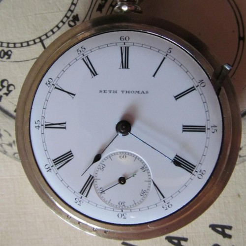 Seth Thomas Pocket Watch Serial Number Lookup