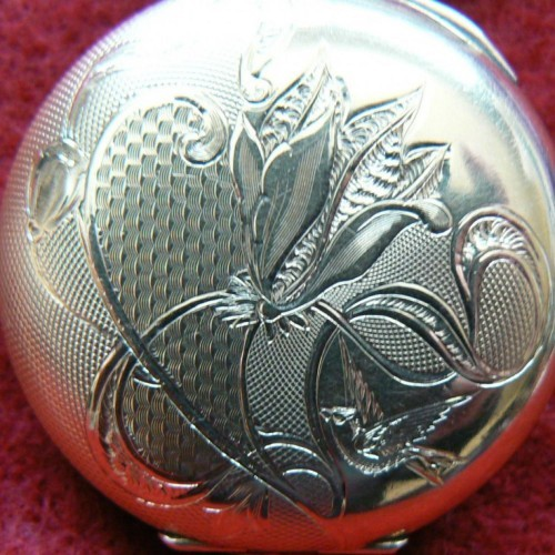 Illinois Grade 37 Pocket Watch Image