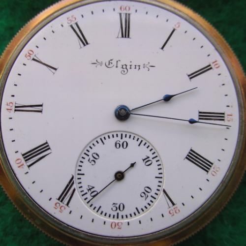 Elgin Grade 187 Pocket Watch Image