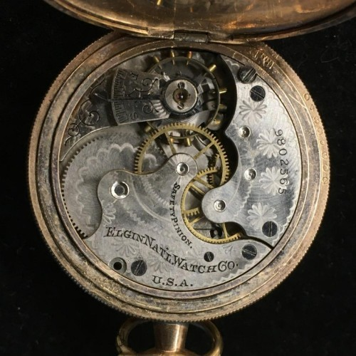 Elgin Grade 206 Pocket Watch Image