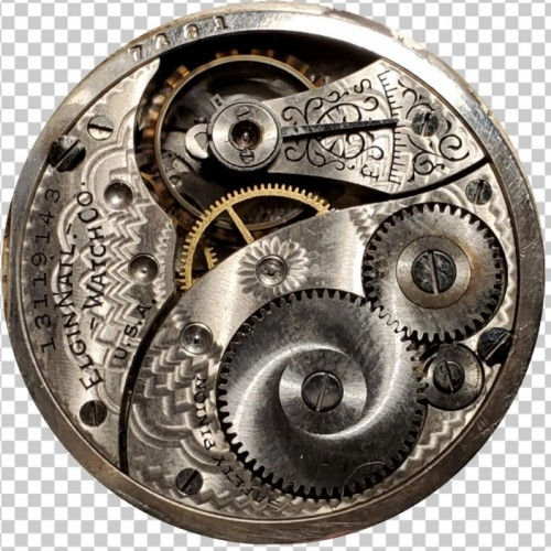 Elgin Grade 324 Pocket Watch Image