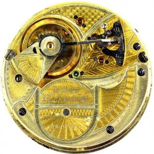 Rockford Grade 70 Pocket Watch Image