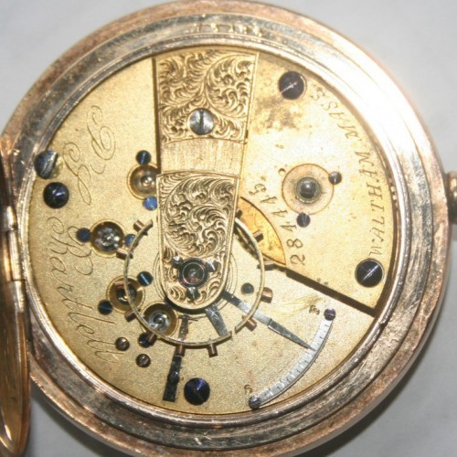 American watch company pocket watch serial numbers