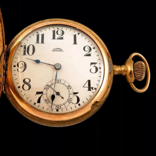 Hampden Grade No. 109 D (in split flag) Pocket Watch Image