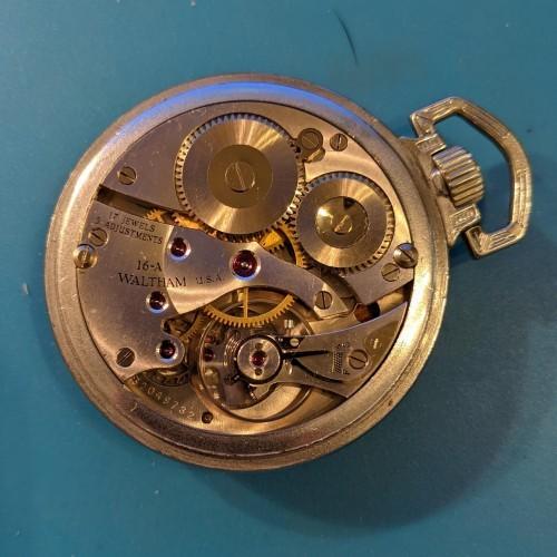 Waltham Grade No. 1617 Pocket Watch Image
