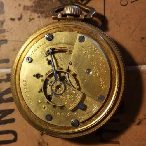 Elgin Grade 249 Pocket Watch Image