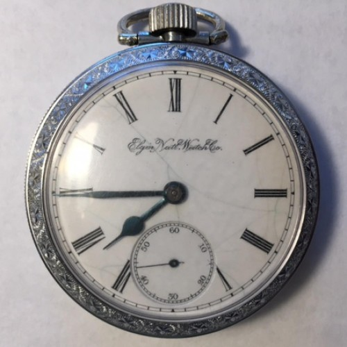 Elgin Grade 43 Pocket Watch Image