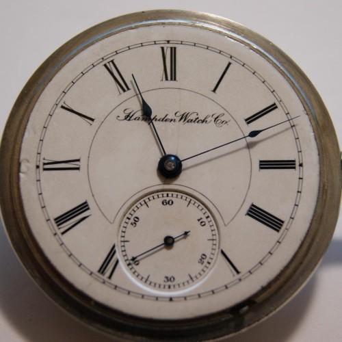 Hampden Grade No. 46 Pocket Watch Image