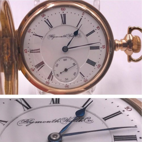 Rockford Grade 100 S Pocket Watch Image