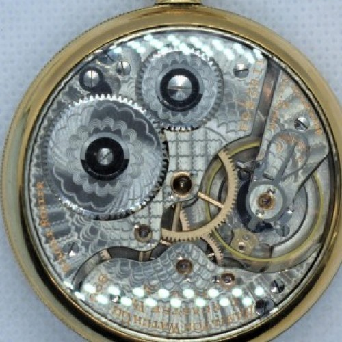 Hamilton Grade 990 Pocket Watch Image