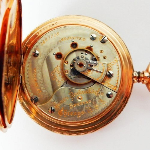 Illinois Grade 64 Pocket Watch Image