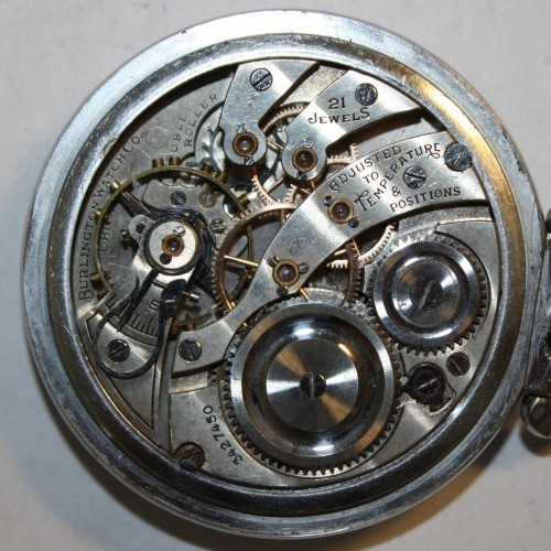 Illinois Grade 108 Pocket Watch Image