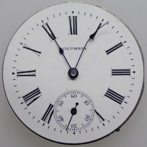 Image of Columbia Watch Co.  #6400168 Dial