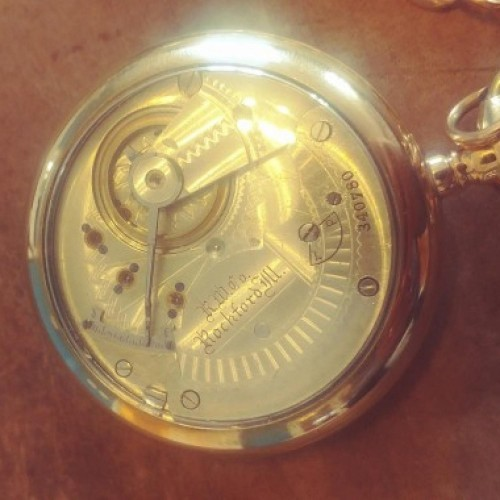 Rockford Grade 66 Pocket Watch Image