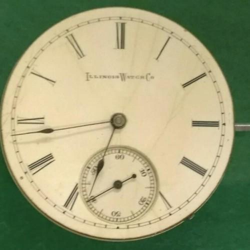 Illinois Grade 154 Pocket Watch Image