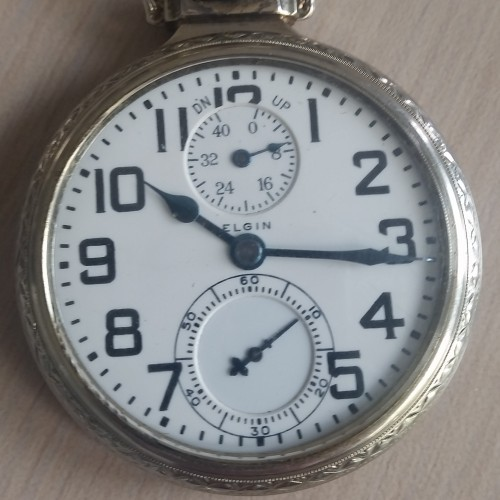 Elgin Grade 472 Pocket Watch Image