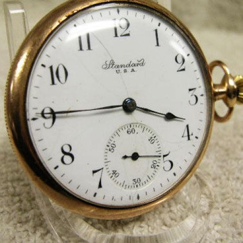 New York Standard Watch Co. Grade 170 Pocket Watch Image