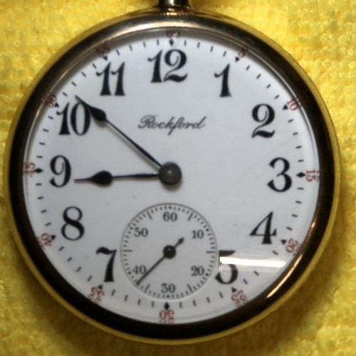 Rockford Grade 705 Pocket Watch Image