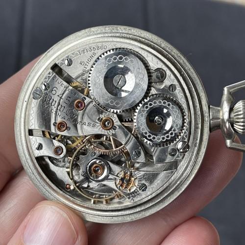 Waltham Grade No. 645 Pocket Watch
