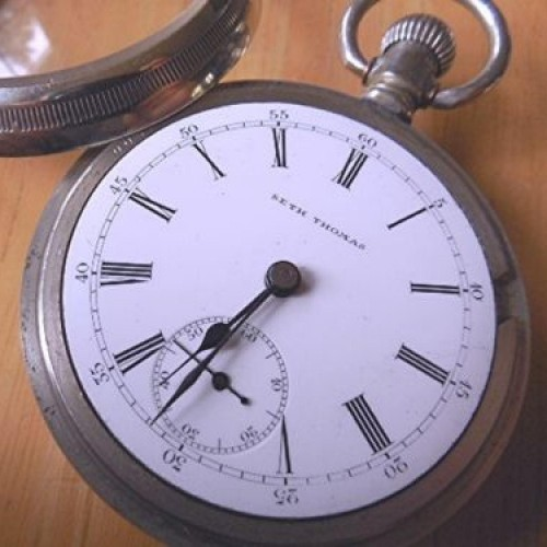 Seth Thomas Grade 169 Pocket Watch Image