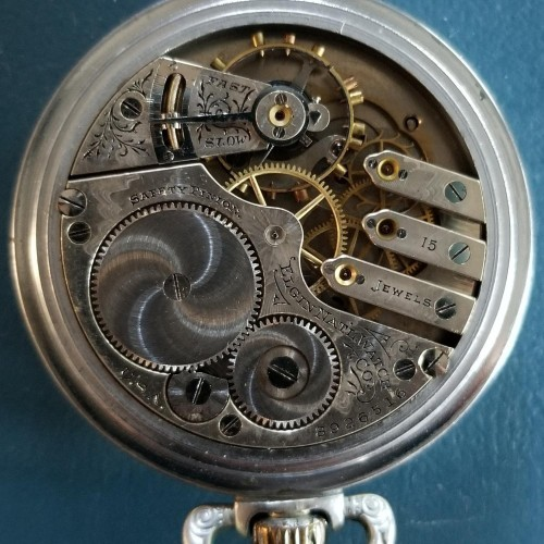 Elgin Grade 247 Pocket Watch Image