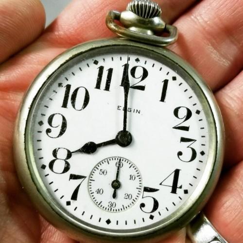 Elgin Grade 211 Pocket Watch Image