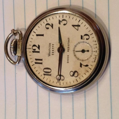 Robert h ingersoll midget watch