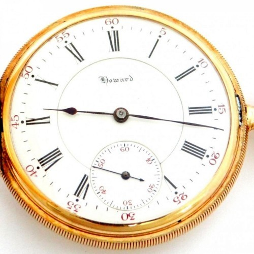 E. Howard Watch Co. (Keystone) Grade Series 9 Pocket Watch Image