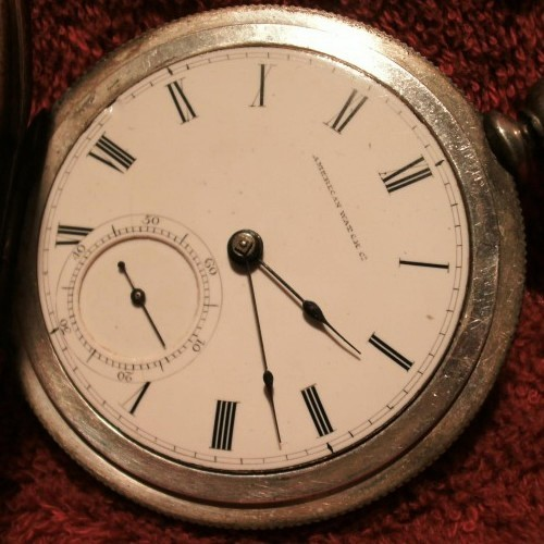 American Watch Co. Grade Wm Ellery  Pocket Watch Image