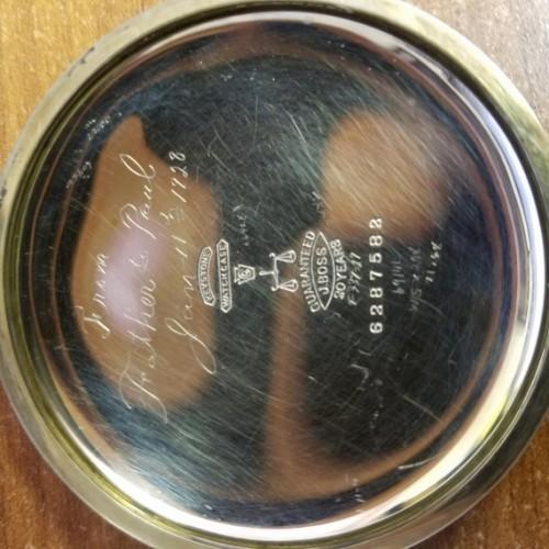 Waltham Grade No. 820 Pocket Watch