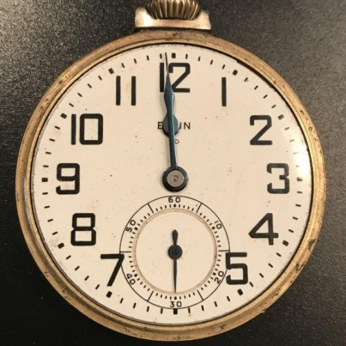 Elgin Grade 575 Pocket Watch Image