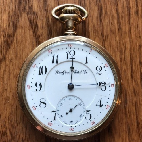 Rockford Grade 555 Pocket Watch Image
