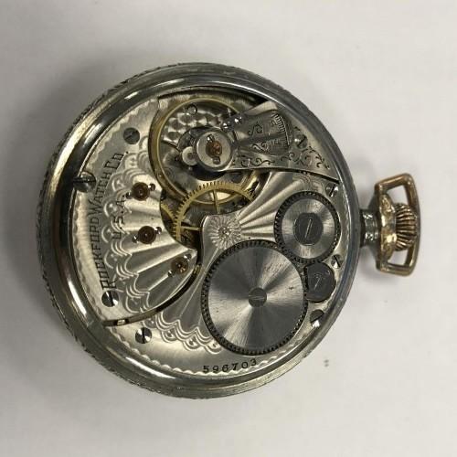 Rockford Grade 595 Pocket Watch Image
